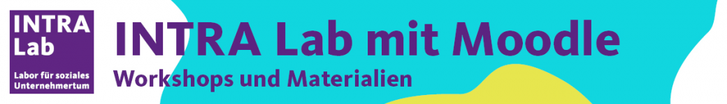 Logo of INTRA Lab mit Moodle